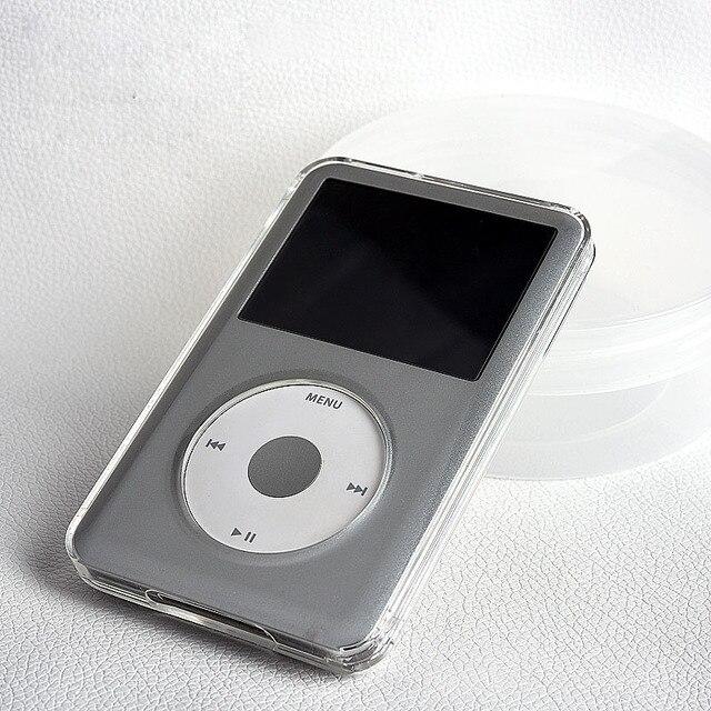 קריסטל שקוף מחשב קשיח מקרה הגנת גוף מלא עבור Apple iPod Classic 6th 80GB 120GB 7th 160GB כיסוי Coque Fundas פגז
