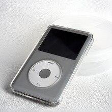 Cristal transparente caso de proteção de corpo inteiro duro para apple ipod clássico 6th 80gb 120gb 7th 160gb capa coque fundas concha