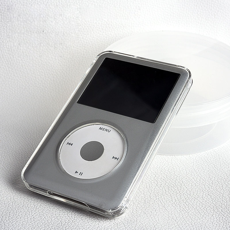 Hard-Full-Body-Protection-Case Shell 160GB-COVER Classic Transparent Apple iPod for 6th title=