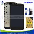 100%Original LCD Complete for Motorola MOTO G XT1032 XT1033 LCD Display Touch Screen Digitizer with Frame Assembly + Tools