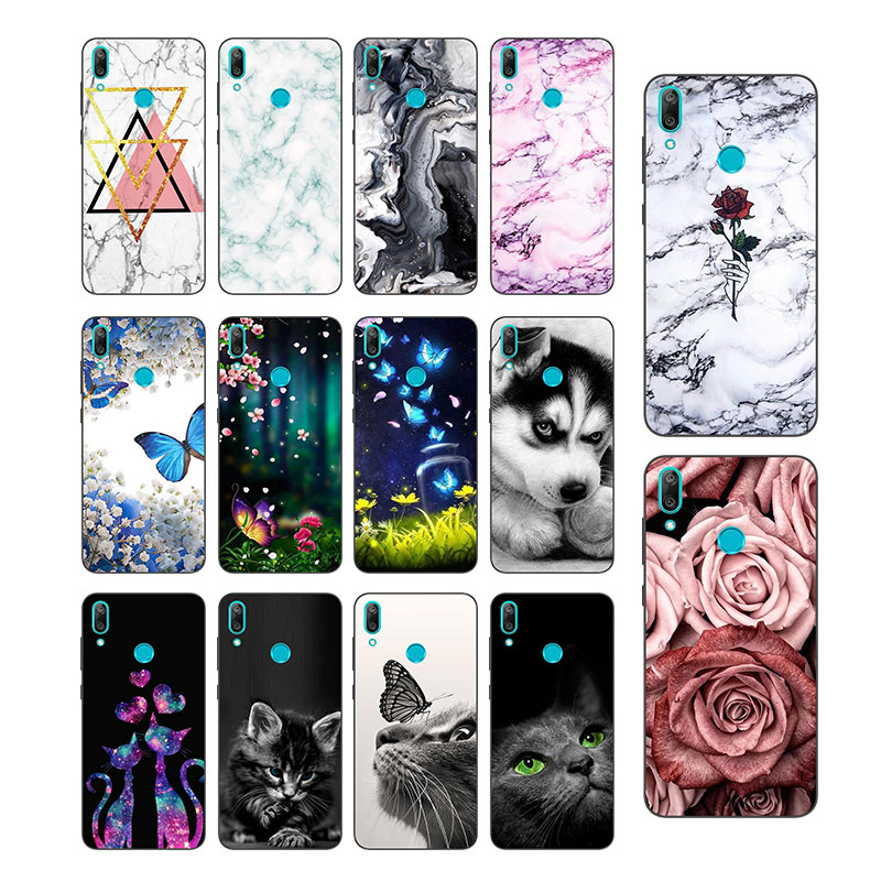 <font><b>Huawei</b></font> <font><b>Y7</b></font> Prime <font><b>2019</b></font> <font><b>Case</b></font> <font><b>Huawei</b></font> <font><b>Y7</b></font> <font><b>2019</b></font> <font><b>Cover</b></font> Silicone Black Matt Phone <font><b>Case</b></font> For <font><b>Huawei</b></font> <font><b>Y7</b></font> <font><b>2019</b></font> Y7Prime Y 7 <font><b>2019</b></font> TPU <font><b>Case</b></font> image