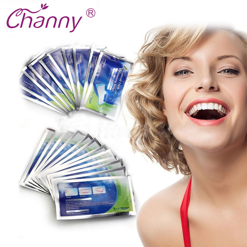 28 Pcs Lot Teeth Whitening Strips Gel Care Oral Hygiene Clareador