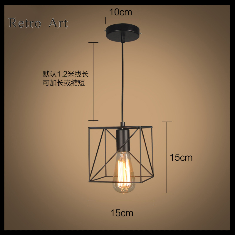 Vintage edison metal wire cage hanging lamp shade pendant light vintage edison metal wire cage hanging lamp shade pendant light chandelier in wall lamps from lights lighting on aliexpress alibaba group greentooth Image collections