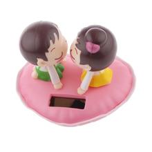 Новые Симпатичные на солнечных батареях поцелуев для качающейся головой Танцы Танцовщица игрушки забавные игрушки Идеальный рождественские подарки для взрослых детей