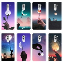 Star Moon Heart Flower Funny Back Cover For Huawei Honor 4X 5A 5X 6 6X Soft Silicone Phone Case For Huawei Honor 6A 4C 5C 6C Pro(China)