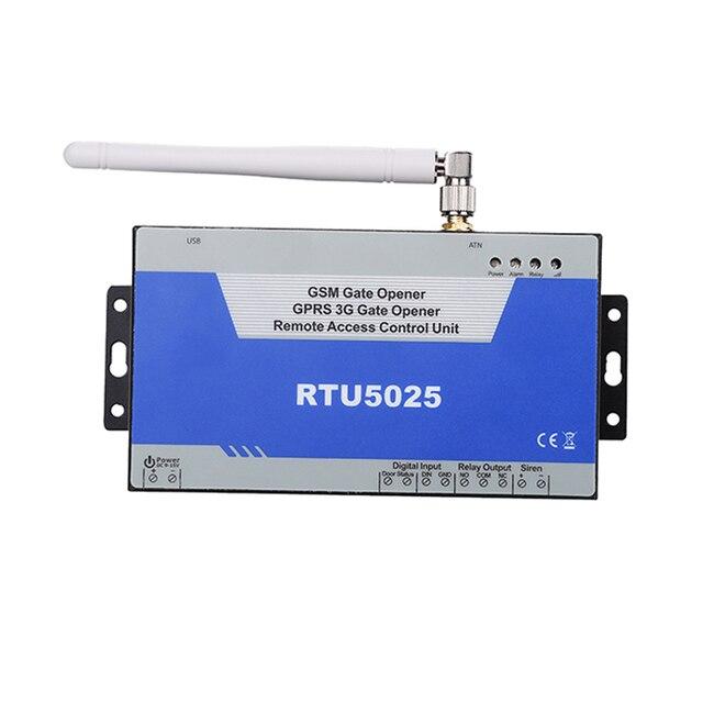 Nueva RTU5025 GSM 3G Swing Abridor de Puerta Corredera la Puerta del Garaje Abierta Venta de la Fábrica de Control Remoto de Banda Cuádruple GPRS Apoyo comunicarse