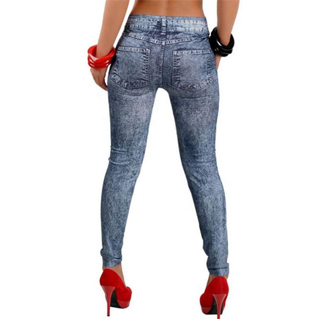 Women Fashion Pants Thin Denim Jeans Leggings Hole Pleated Nine Big Size Stretch New Fashion Slim All Match