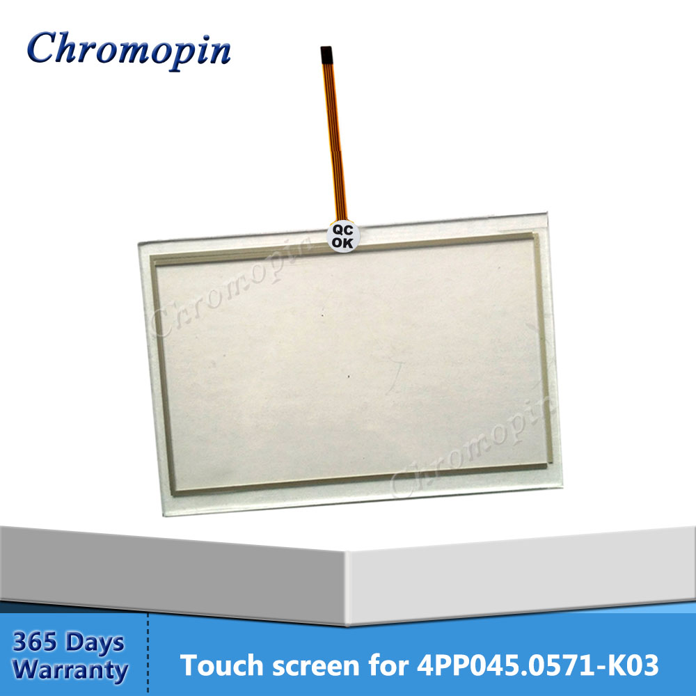 Touch screen for B&R Power Panel 4PP 4PP045.0571-K03 Touch Screen Panel Glass Repair dmc touch screen panel tp3333s1