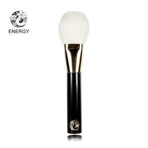 Image 5 - エネルギーブランド11ピースプロフェッショナルメイクブラシセットメイクアップブラシ人工毛アルミフェルールウッドハンドルpincel maquiagem