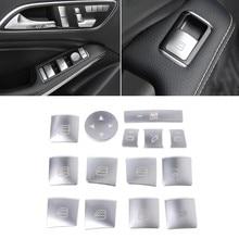 Car Window Glass Lift Button Sticker For Mercedes Benz A B C E GLA CLA GLK  GL ML GLE Class June DropShip 32e15d85e30f