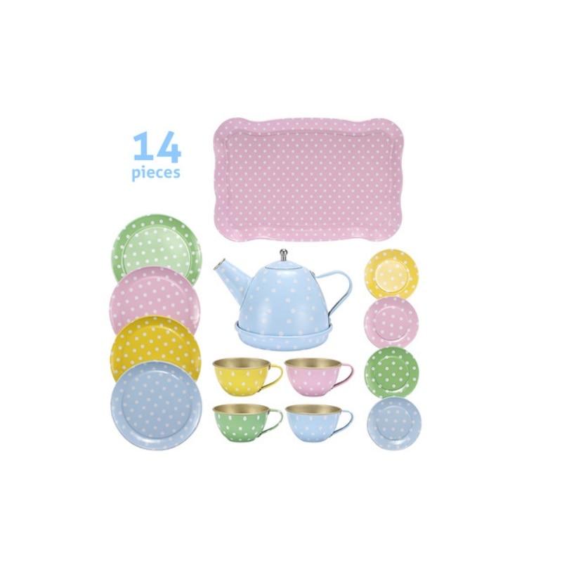 Fly AC Kids Learning & Education Boy Girl Series Simulation Tea Set Toys For Children Birthday/Christmas Gift