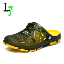 9af6bead439b2f Hommes d'été de Jardin Sabots Pantoufles EVA Mode Casual Antidérapant  Sandales Pour Hommes,