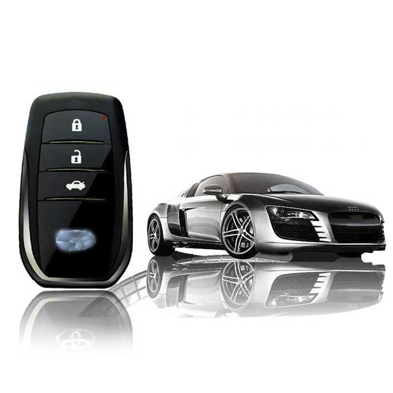 Remote Start Keyless Entry Smartphone PKE Start Stop Car Engine Alarm System Central Locking With 2 Remote Control
