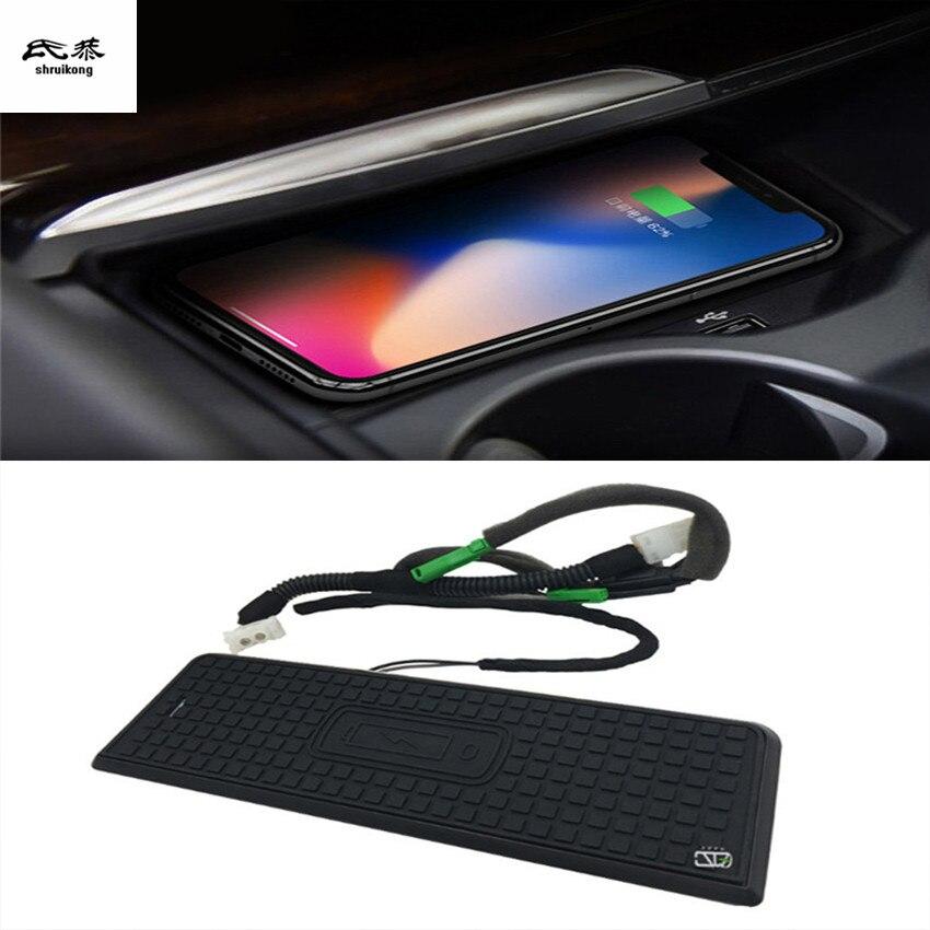 Voiture téléphone portable QI chargeur sans fil Module voiture accessoires pour BMW F30 F31 F34 F35 G20 2015 2016 2017 2018 2019
