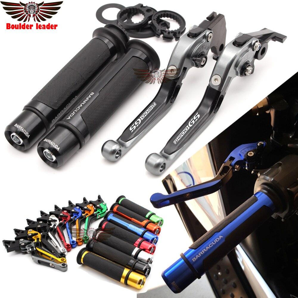 Pour BMW R1200 GS R1200GS LOGO aventure 2014-2016 moto réglable pliant frein embrayage leviers guidon poignées