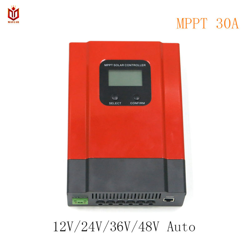 цена на MAYLAR MPPT 30A Solar Battery Charge Controller Esmart3 12V 24V 36V 48V Auto for Max. DC 150V Input off Grid PV Power System