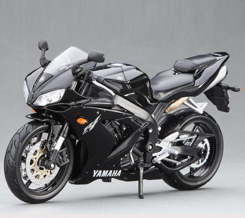 US $24 68 6% OFF|MAISTO 1/12 Scale Black YAMAHA YZF R1 Motorcycle Racing  Moto Diecast Kids Collections Birthday Gift-in Diecasts & Toy Vehicles from