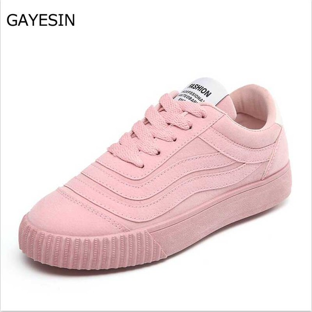 f54751024d71 2018 Woman shoes Non-slip casual for woman PU leather sneakers breathable lace  up outdoor white shoes Tenis Feminino plus size