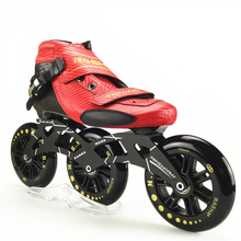 100% Original RASHA FULL CARBON Speed Skating Shoes,INLINE SKATES Adult / Kids Professional Roller Skates With MARS Wheels