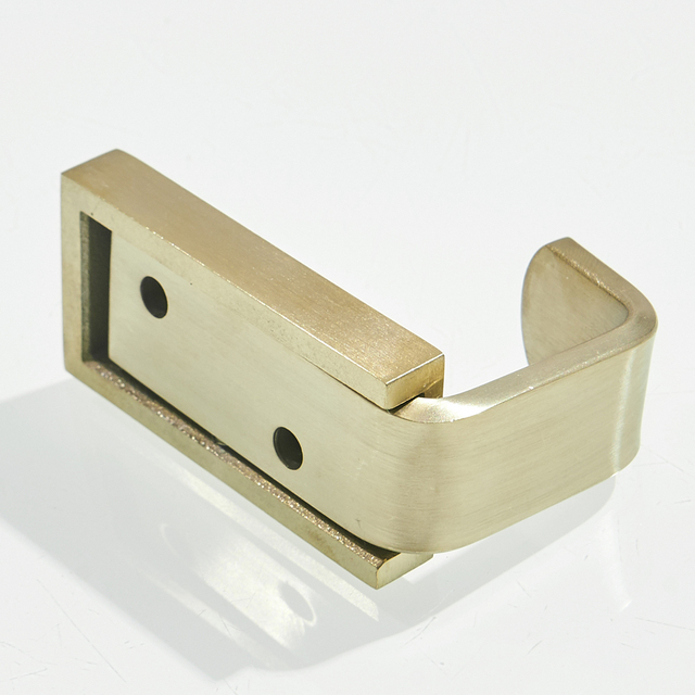 Leyden Towel Hook Stainless Steel Brushed Gold,Bathroom Single Robe Hanger Wall Heavy Duty Contemporary Holder