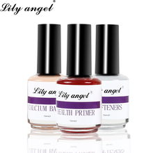 Lily angel 1pc 15ml Nail Cuticle Oil Nourishment High Quality UV Gel Treatment Calcium Base Health Primer