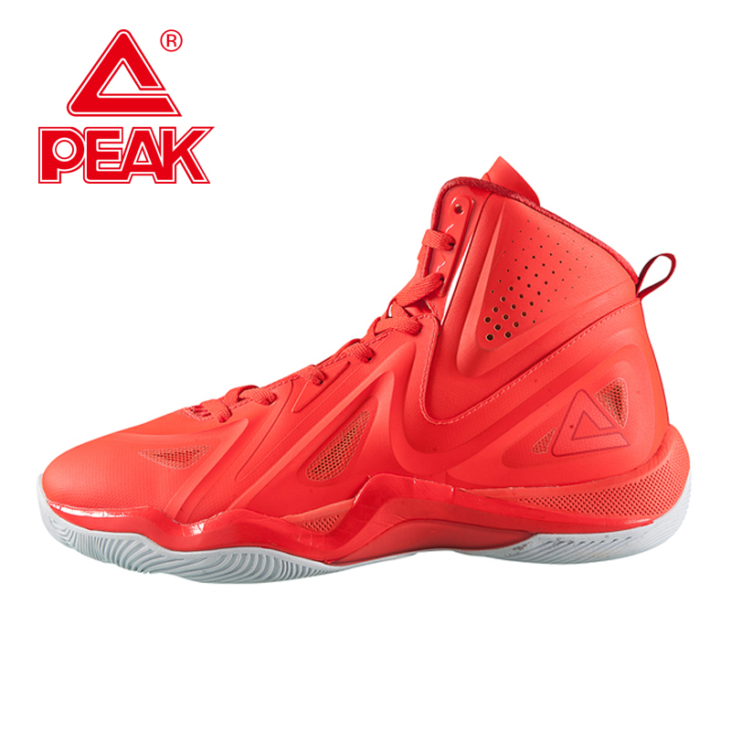 PEAK SPORT Challenger 2.2 Men Basketball Shoes High-Top Breathable Training Boots FOOTHOLD Tech Rubber Outsole Athletic Sneaker peak sport monster ii men basketball shoes foothold tech sneakers breathable training athletic durable rubber outsole boots