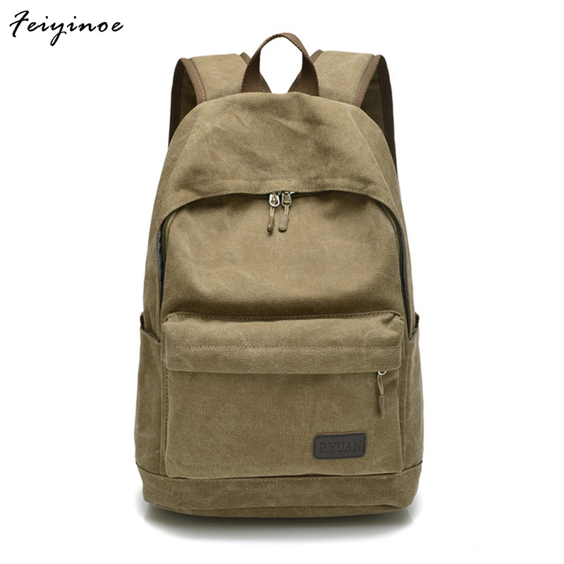 Men bag canvas bag casual shoulder bag Messenger bag Korean version of schoolbags casual canvas satchel men sling bag