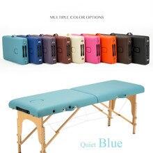 27 секций 185см60см легкий портативный массажный стол диван кровать плинтус терапия тату салон Рейки Исцеление шведский массаж 15 кг