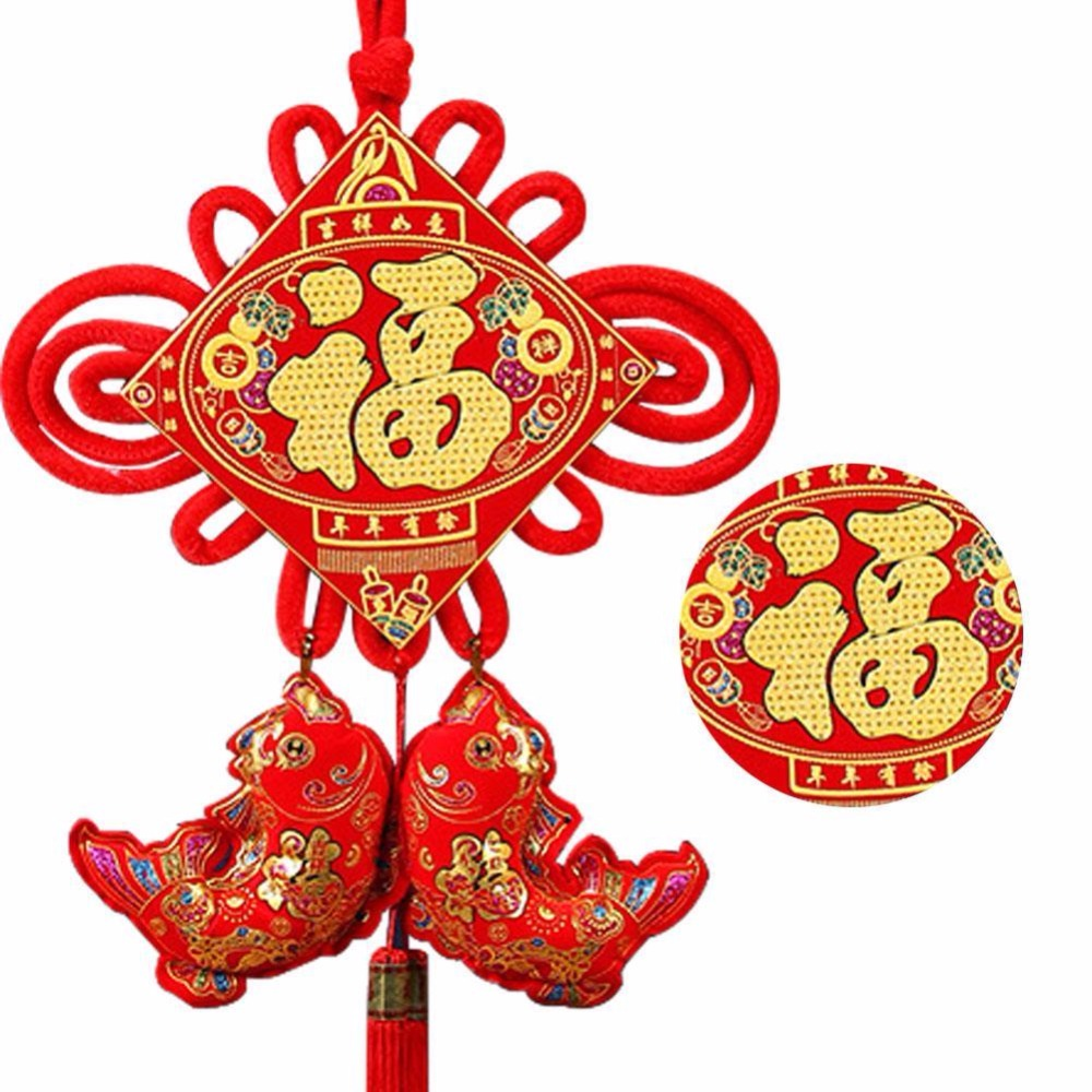 Popular chinese knot art buy cheap chinese knot art lots for Good luck home decor
