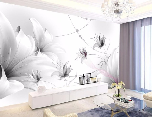 Custom Brief 3d Wallpaper Mural Non Woven Living Room Bedroom