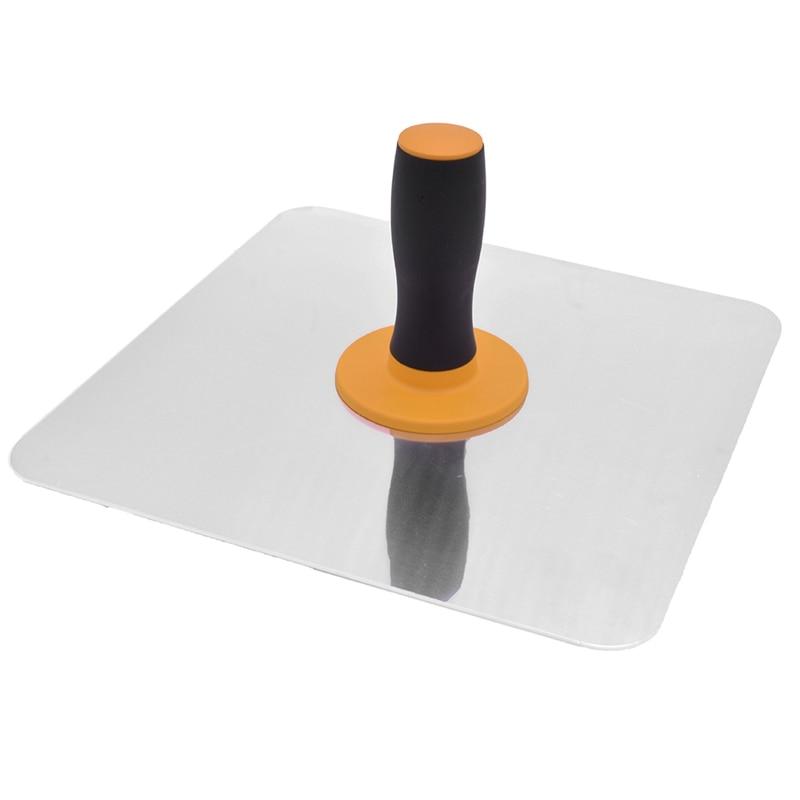 Aluminium Trowel Mortar Board Holder Construction With Handle Plastering Tool TB Sale