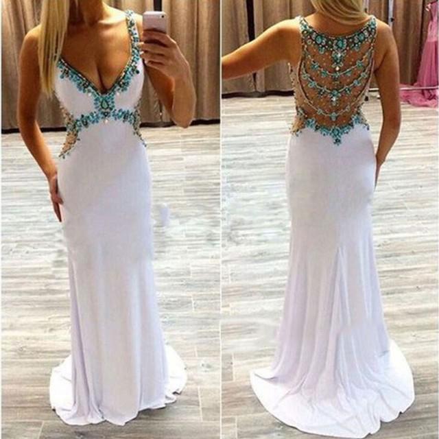 Backless Prom Dresses 2016