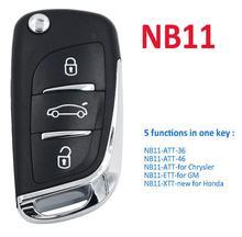5Pcs/Lot Universal Remote NB-Series for URG200 KD900+,KEYDIY Remote for NB11 ATT-36-3B