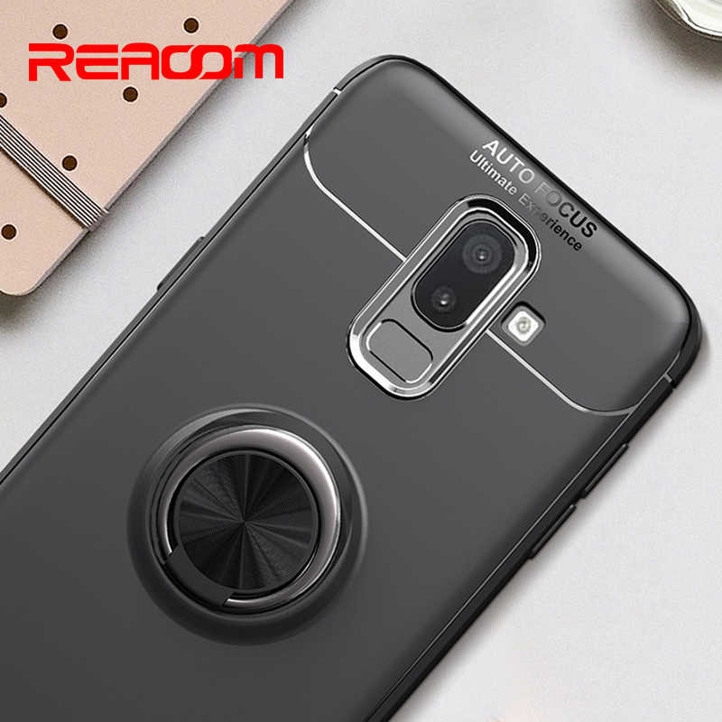 Case for Samsung Galaxy J5 2017 Ring Stand Magnetic Holder for Samsung Galaxy J3 J7 2017 J4 J6 J8 A6 2018 J2 Prime A6 Plus Cover