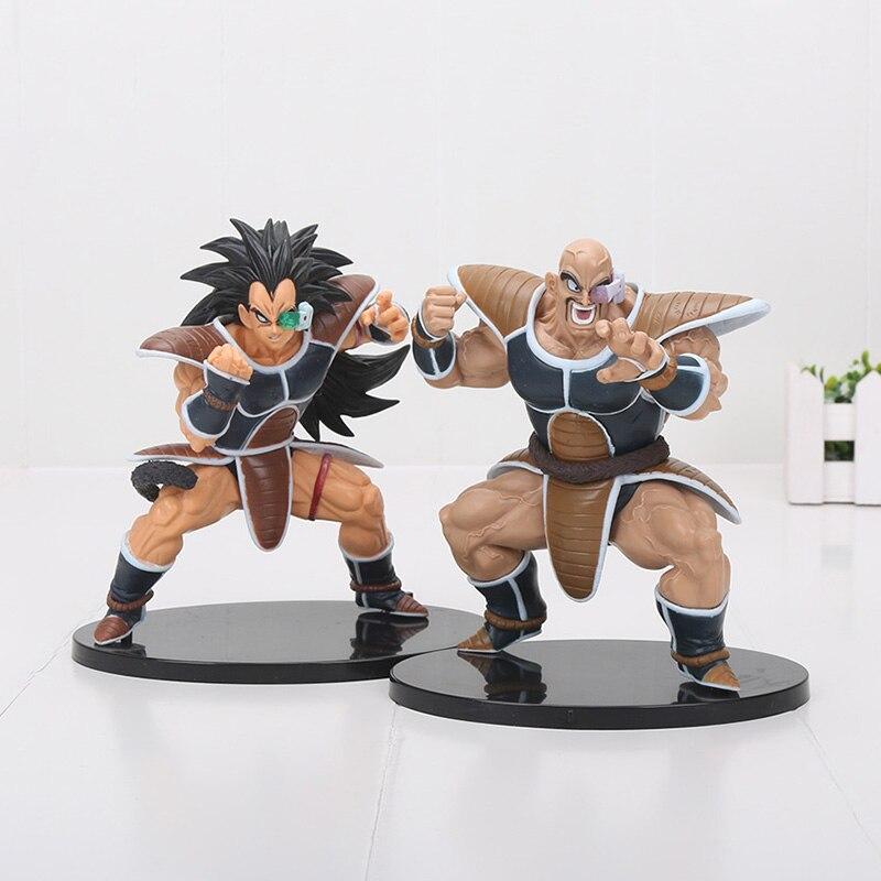 15cm DXF Dragon Ball Z Super Saiyan Raditz Nappa Dragonball DBZ SCultures PVC Action Figure Model Toy