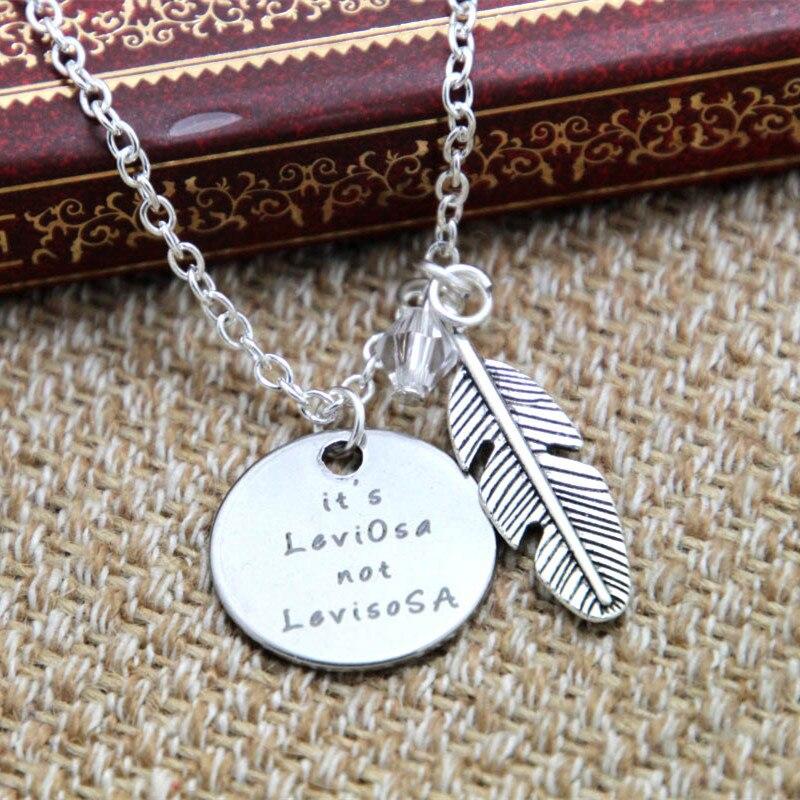 12pcs/lot Wizard Magic necklace HP It's LeviOsa not