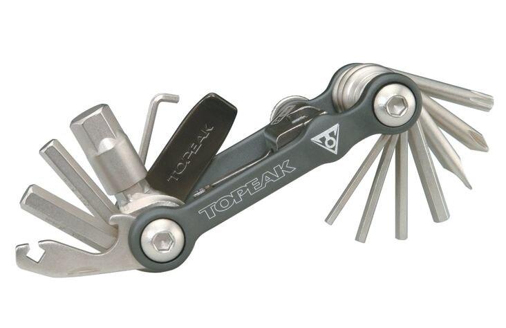 TOPEAK MINI 18 + Mini Outil 20 Fonction Torx Clé T25 Chaîne Broches Disjoncteur Auto-serrage Outil Multifonction Outils kit TT2518