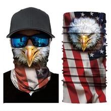 Biker Bandanas (5 pcs/lot) AC116-AC124 Outdoor Sports Hat Cycling Turban Head Scarf Face Mask