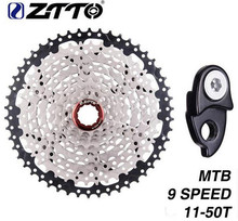 ZTTO Bicycle Freewheel 9 Speed 11-50T Mountain Bike Cassettes 27s MTB Compatible M430 M4000 M590