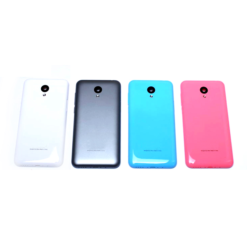 1PCS New For Meizu M2 Mini Battery Back Cover Case 5.0Inch Meilan M2 Mini Phone Housing Back Battery Door Case