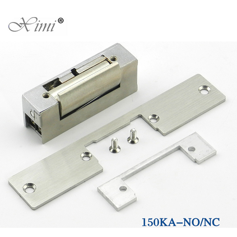 все цены на Electric Strike Door Lock Electronic For Access Control System New Fail Secure Stainless Door 12V DC Fail-Secure NO Lock