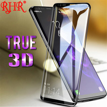 RHR 3D Curved Full Screen Protector For Samsung Galaxy S8 S9 Plus Tempered Glass For Samsung Galaxy S6 S7 Edge Note 8 S8 Flim