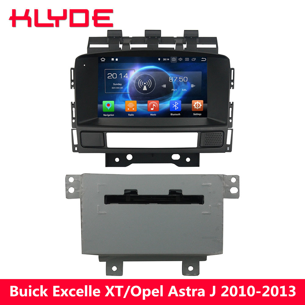 KLYDE Octa Core Android 8 4GB+32GB Car DVD Player Radio For Opel Astra J Vauxhall Astra/Buick Excelle GT XT 2010 2011 2012 2013