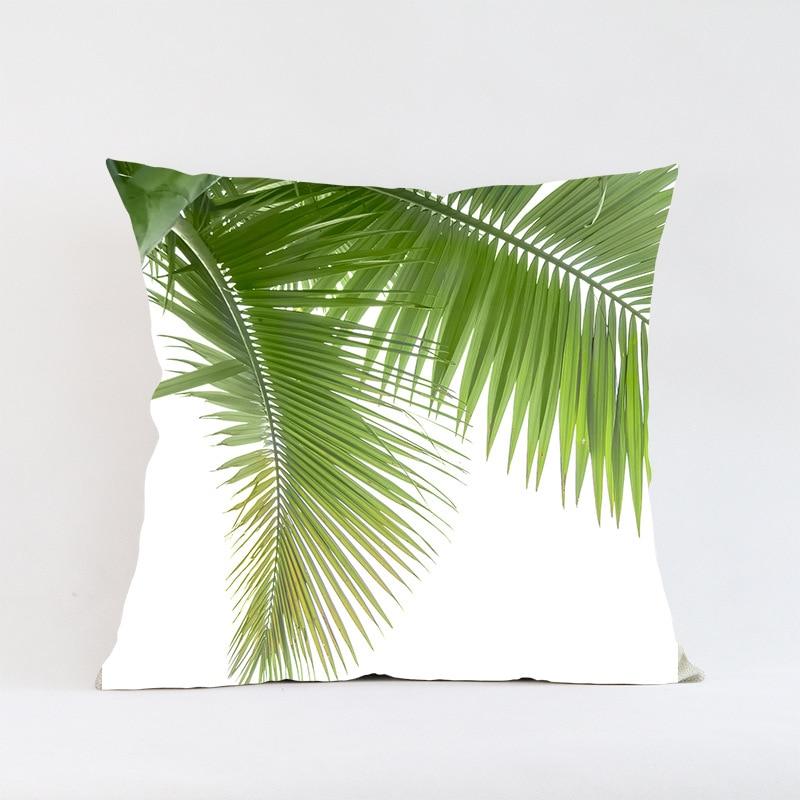 Ventas calientes Hojas verdes planta de follaje Creativo Patrón de - Textiles para el hogar - foto 3
