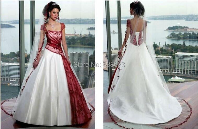 Abiti da sposa con dettagli rossi – Abiti alla moda e883675966f