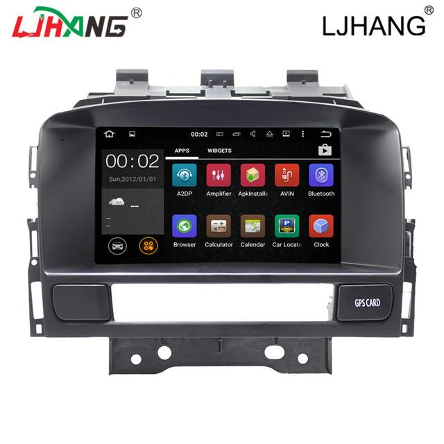 2 din Android 5.1 car multimedia player para Opel Astra J DVD com rádio de vídeo estéreo bluetooth controle da roda de boi mapa 3G WI-FI