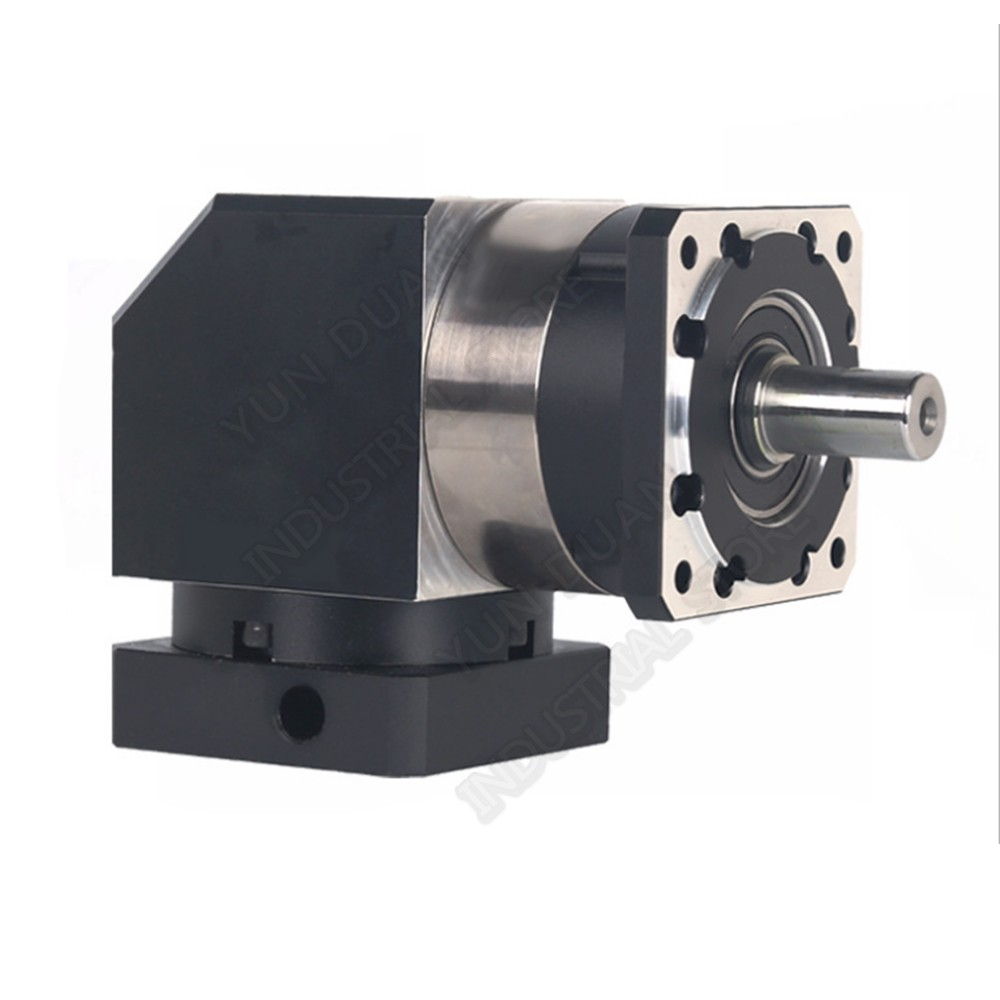 100 :1 Ratio Corner Right Angled Planetary Reducer Gearbox Turn Reversing Speed Reducer for NEMA24 200W 400W 600W Servo Motor-in Speed Reducers from Home Improvement    2