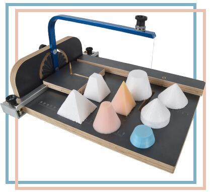 Free Shiping Board Wax Foam Cutting Machine Working Table