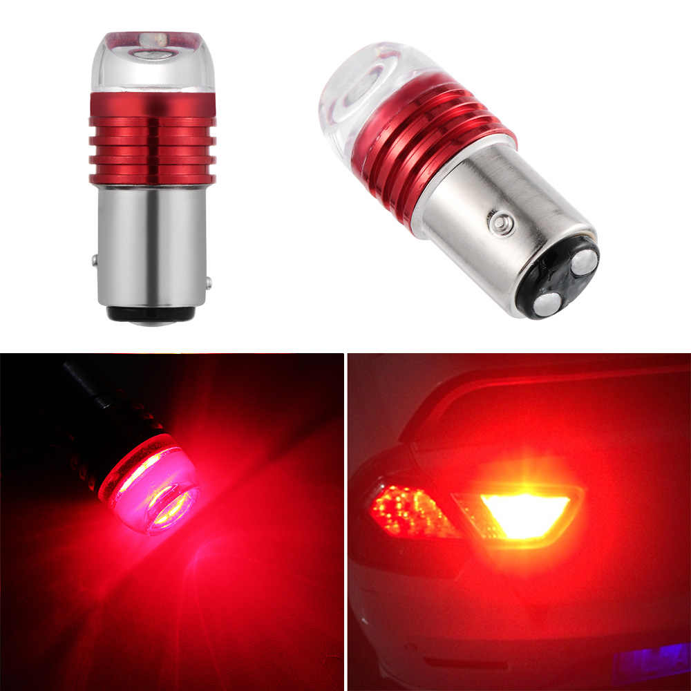 2PC New Red 1157 BAY15D P21/5W Strobe Flash Light Brake Blink Led Tail Car Reverse Bulb Auto Tail Stop Lamp High Quality