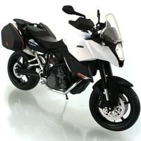 1:12 Diecast Metalen & ABS Model Motorfiets KTM 990 Motorbike Model Speelgoed Miniatuur Emulational Speelgoed Cars Voor Kinderen Jongen Juguetes